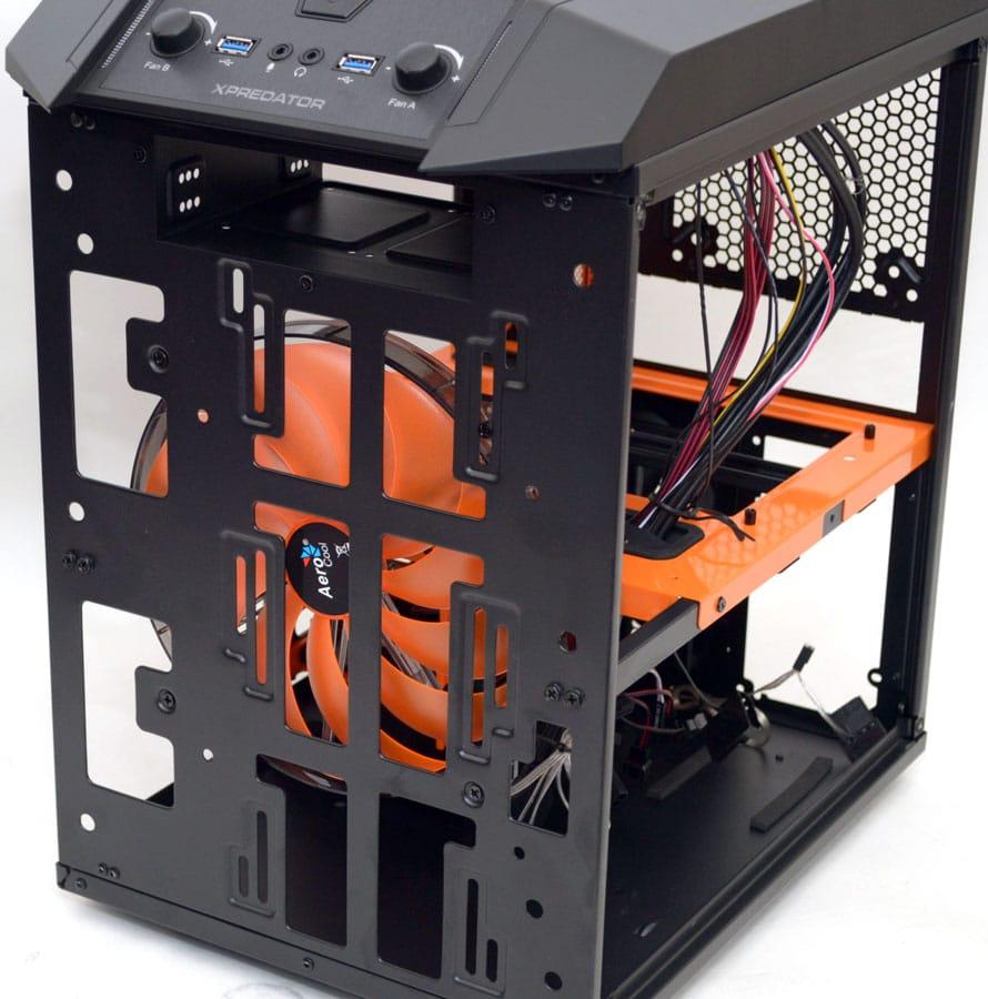 aerocool xpredator cube micro atx chassis review eteknix eteknix