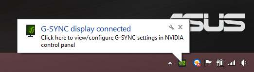 gsync panel connected-