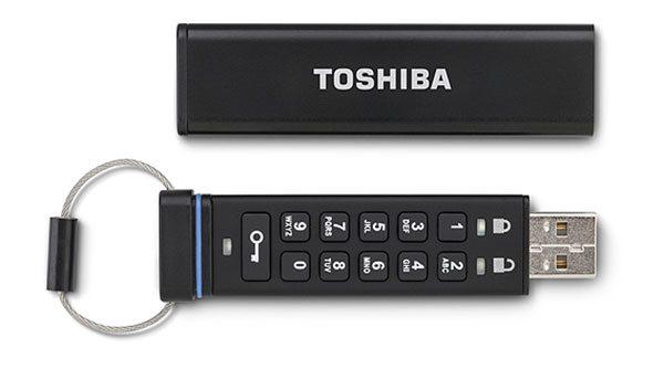 toshiba usb encrypted