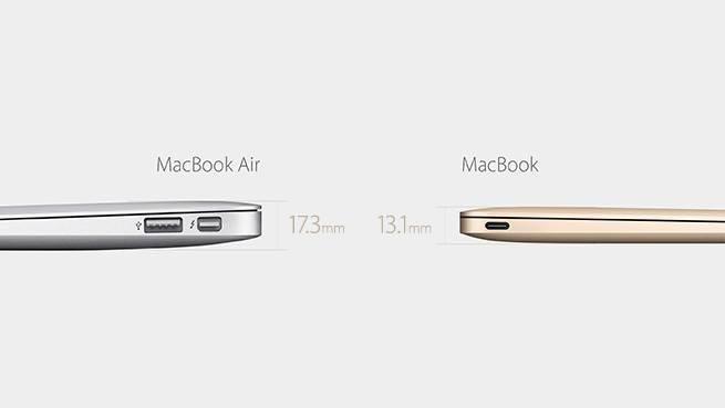 New Gold Macbook 3