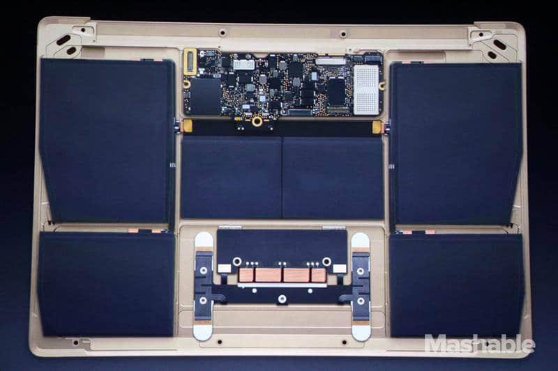 New Gold Macbook 8
