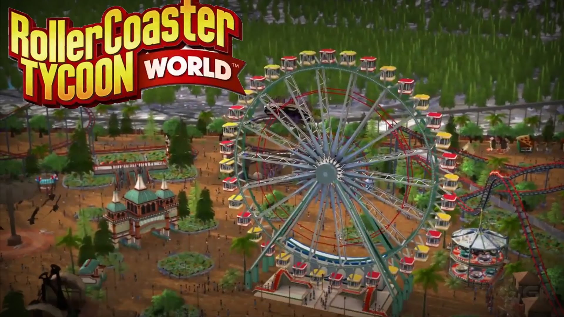 First Gameplay Footage of RollerCoaster Tycoon World Revealed | eTeknix
