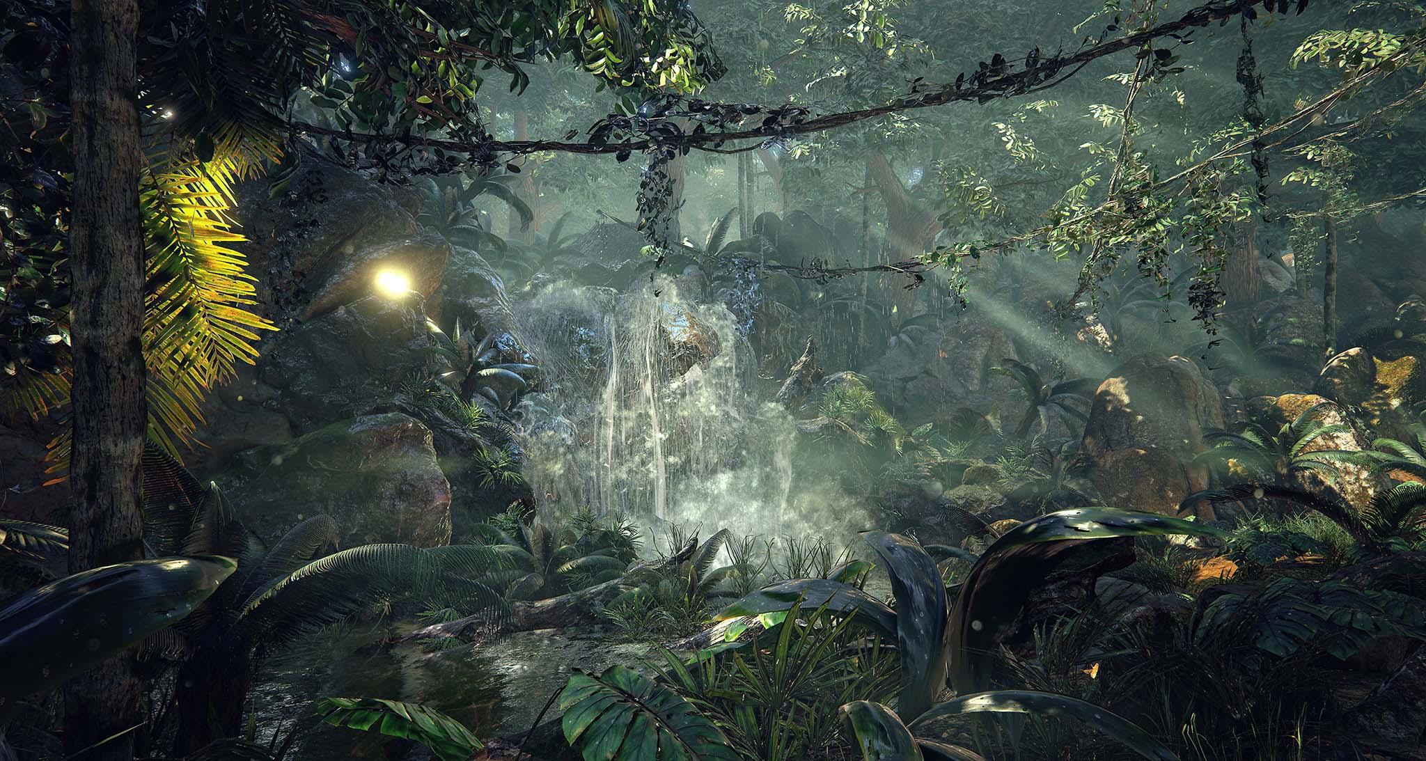 Unreal-Engine-4-Quixel's-Jungle-Environment-3