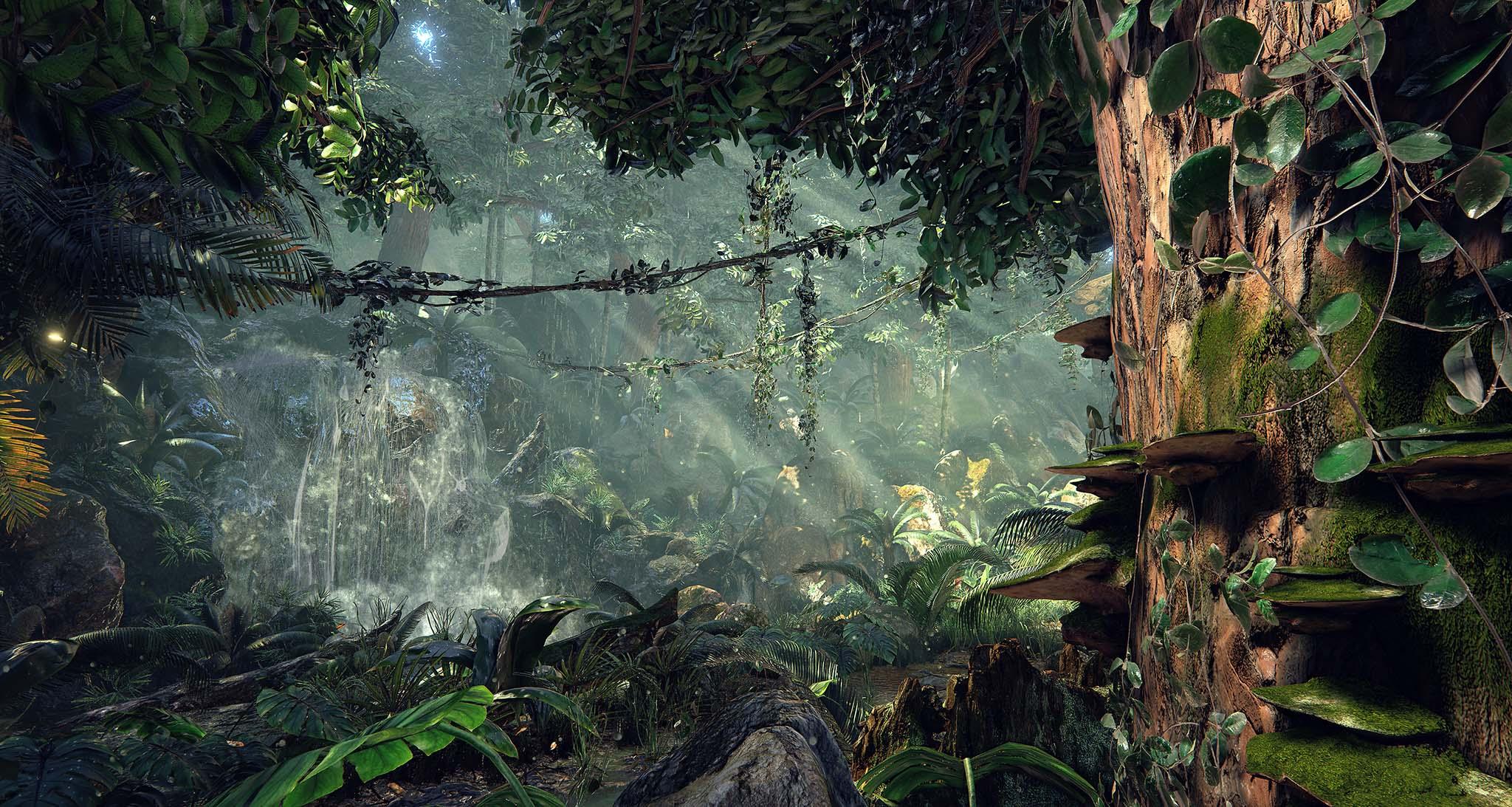 Unreal-Engine-4-Quixel's-Jungle-Environment-8