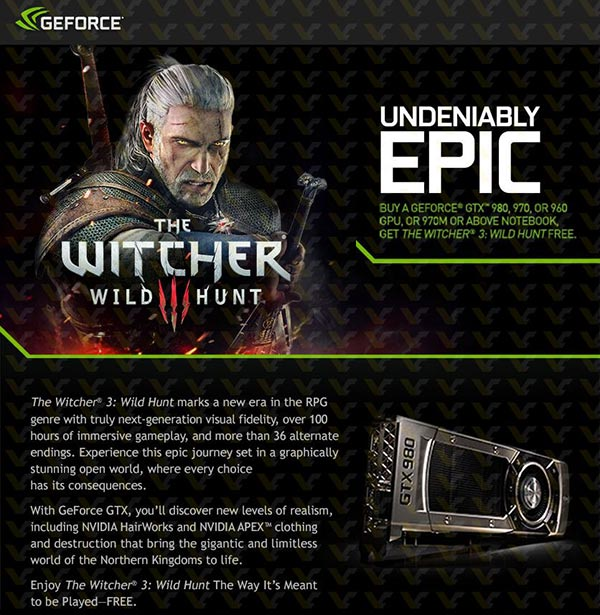 nvidia witcher