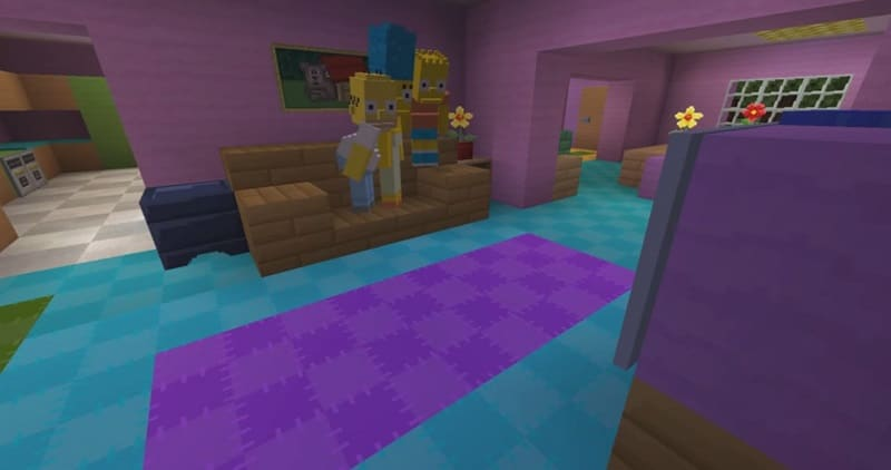 simpsons minecraft