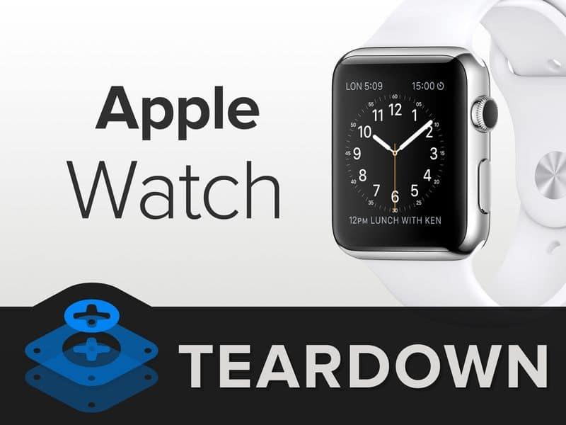 Apple Watch Teardown 1