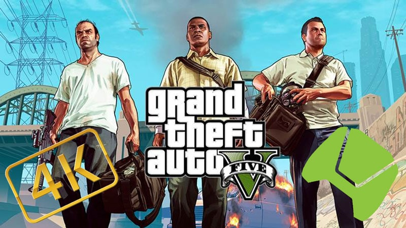 GTA V - The Way It's Meant to Be Played - 4K and Nvidia Shield | eTeknix