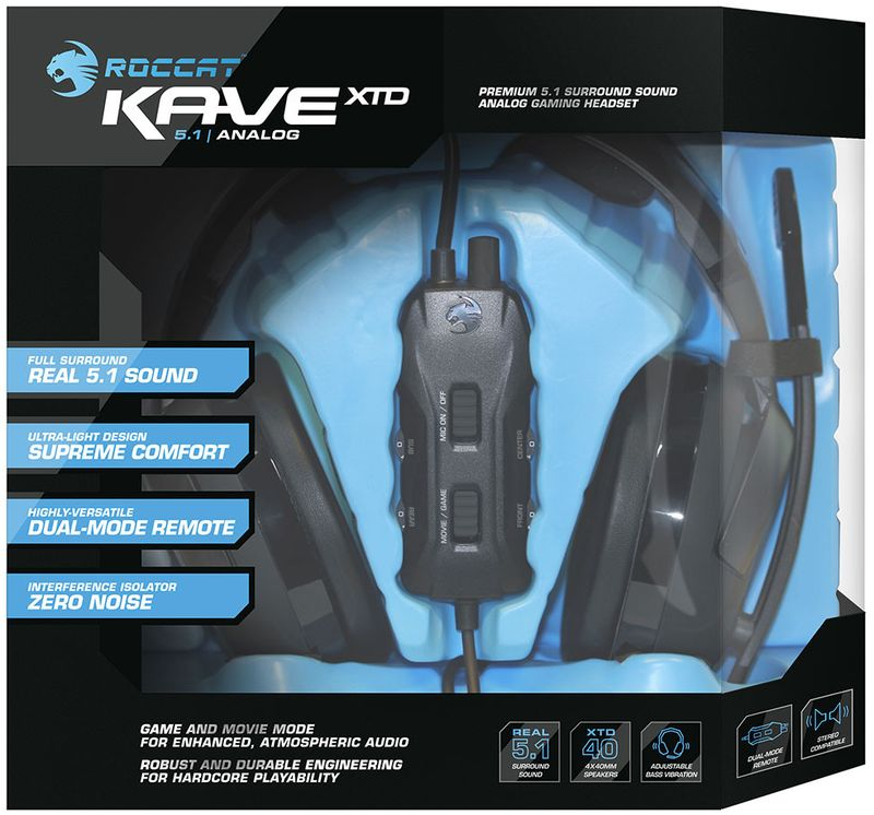 Kave XTD 5.1 analog 5