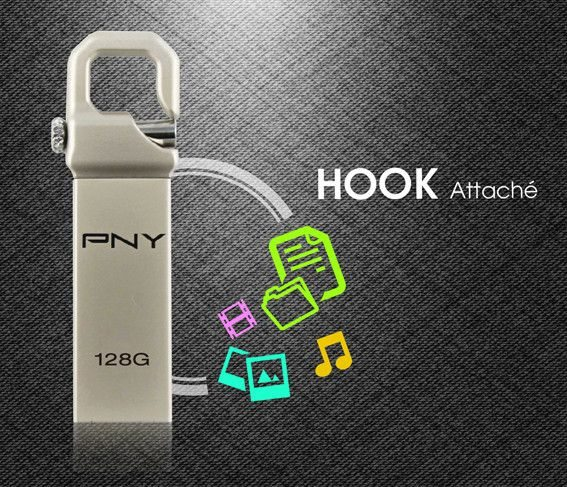 PNY Hook Attaché 128gb