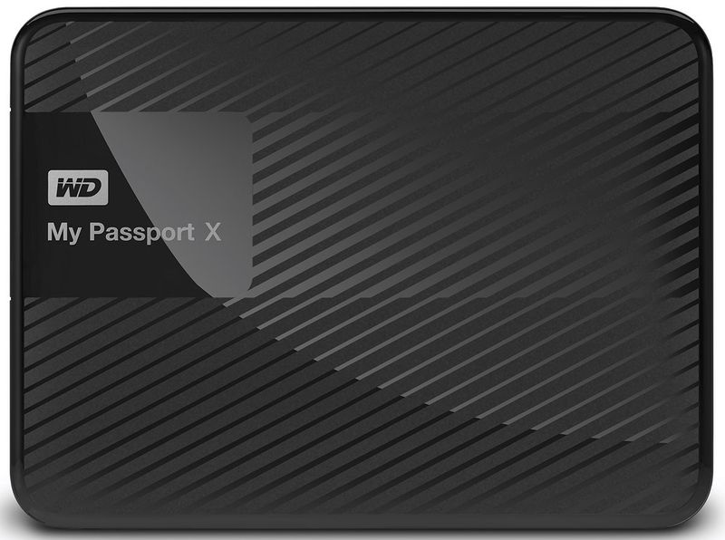 WD My Passport 2TB HDD 1