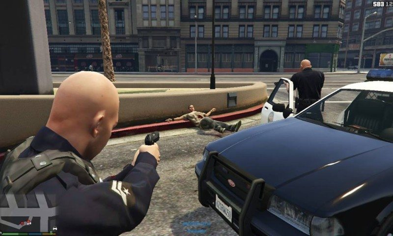 Play as Los Santos Police With New GTA V Mod | eTeknix
