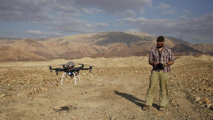 Mideast Jordan Bones And Drones