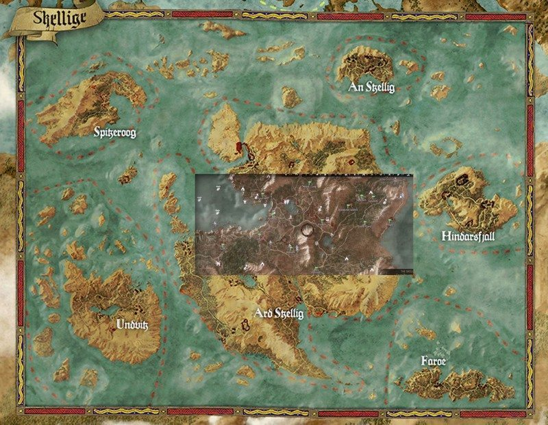 Witcher 3, GTA V, Skyrim & Far Cry 4 Map Size Comparison | eTeknix