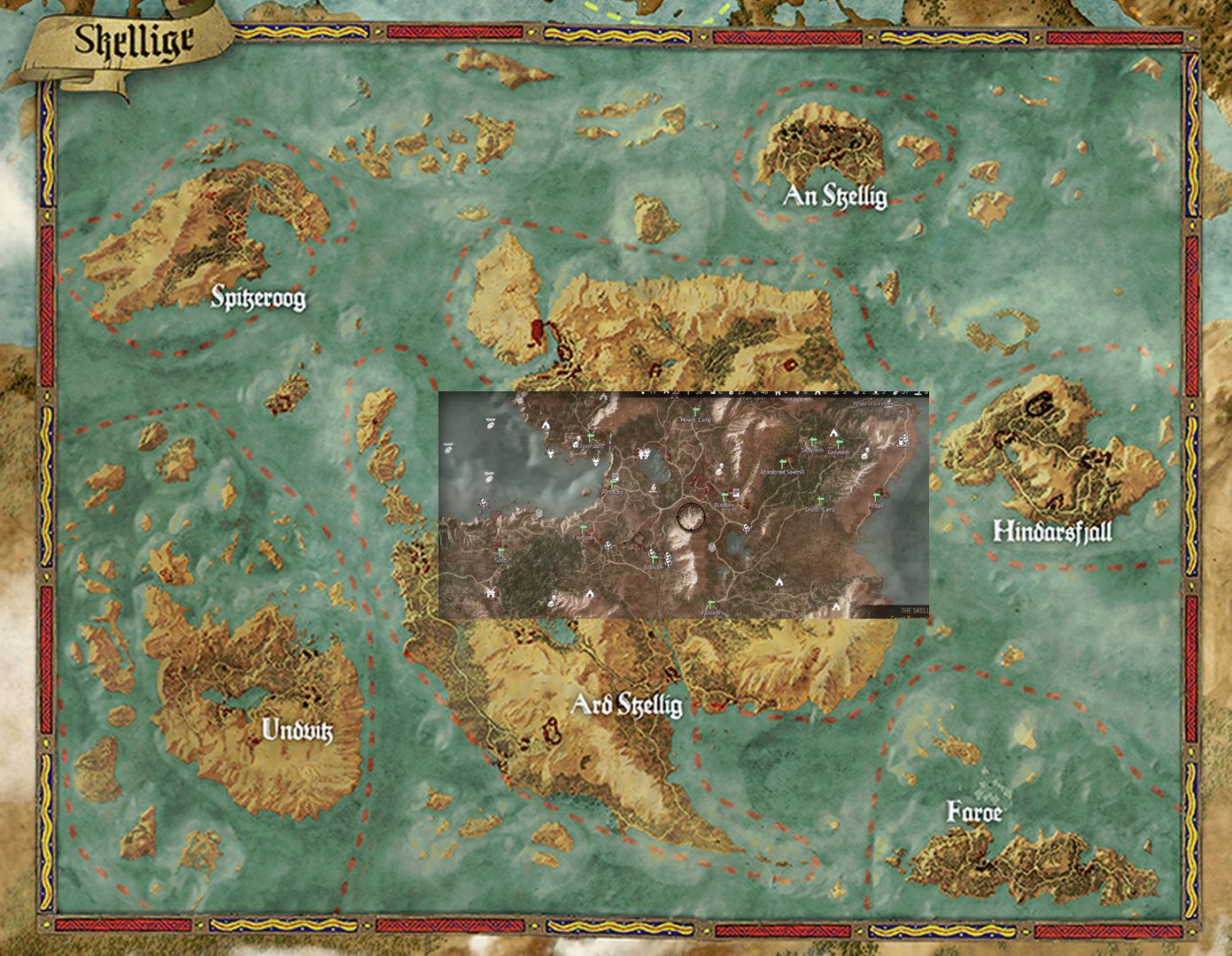 Witcher 3 Gta V Skyrim Far Cry 4 Map Size Comparison Eteknix