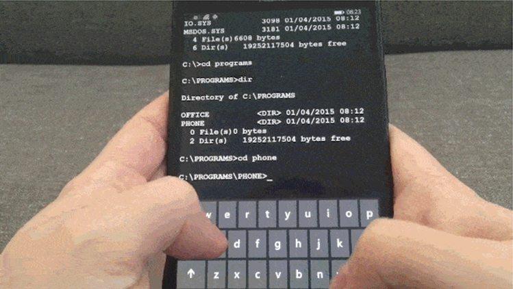 ms-dos-app