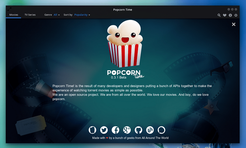 """Popcorn Time, the """"Netflix for Torrents"""", Arrives on iOS"""