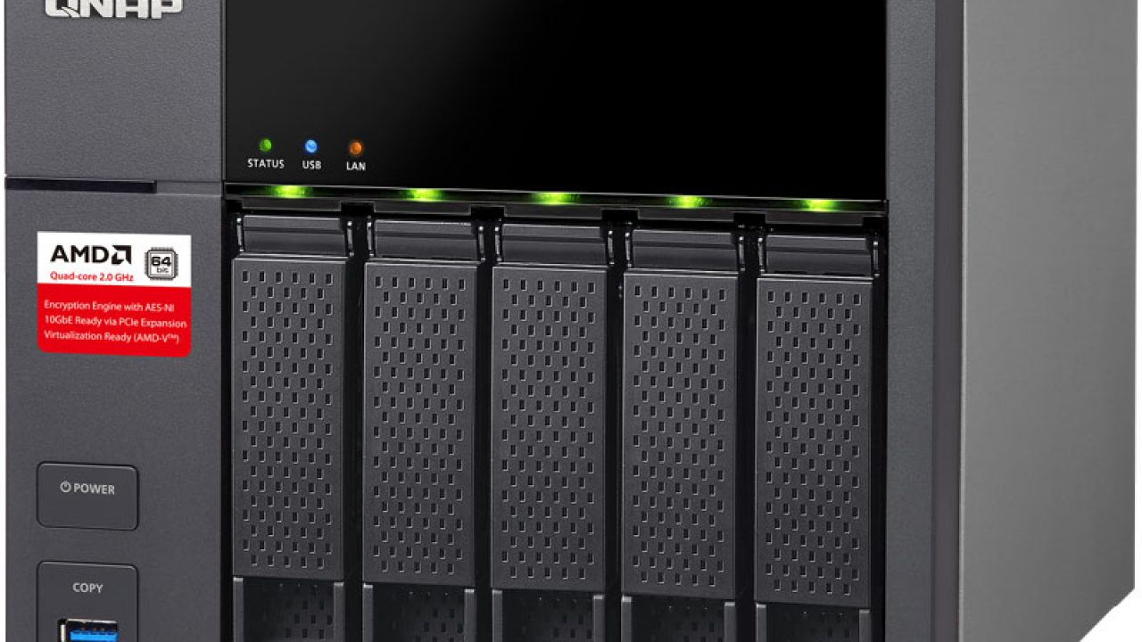 QNAP Announced Affordable AMD Powered 10GbE-Ready 5-Bay SMB NAS