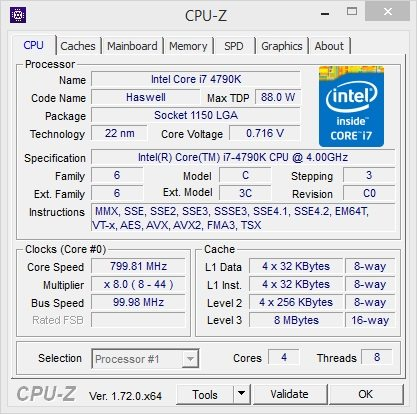 iBuyPower Noctis Intel Z97 Review-CPU-Z