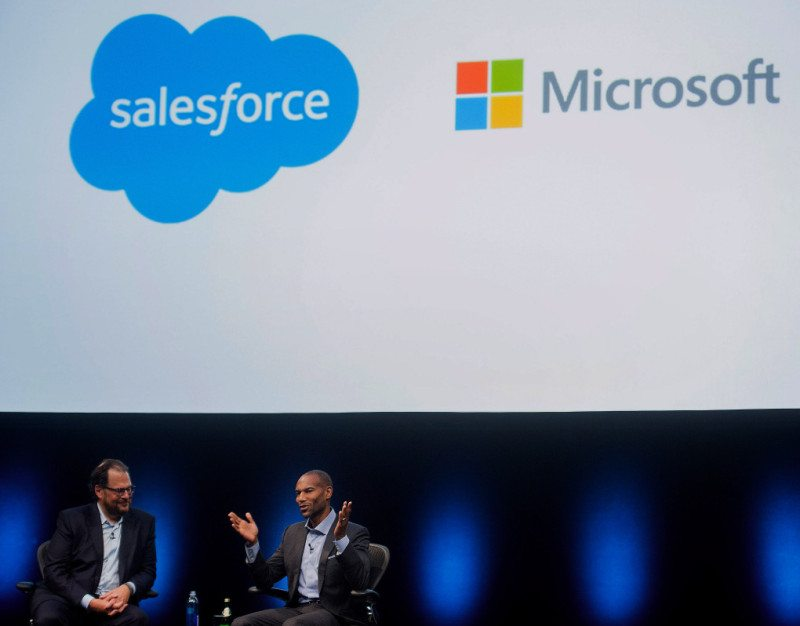 Microsoft Stop Talks to buy Salesforce 1