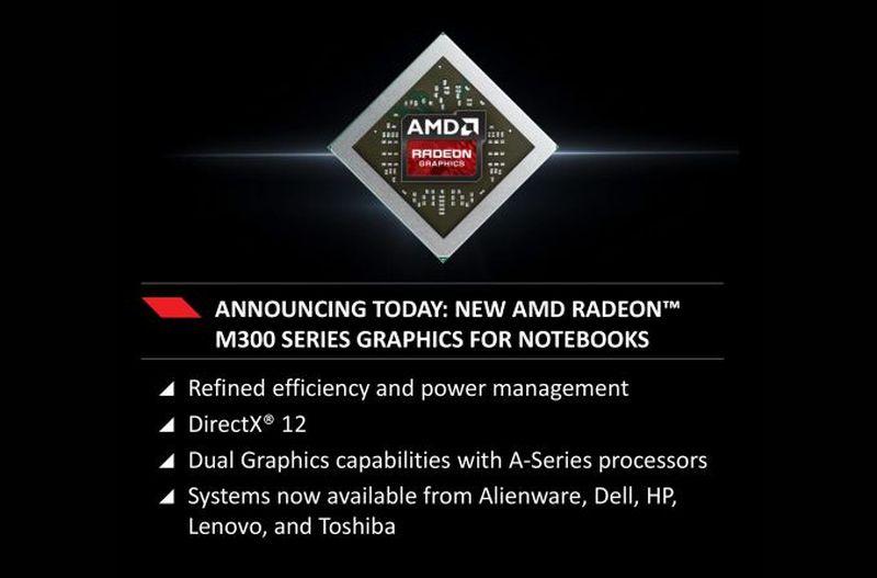 AMD Radeon M300 slide