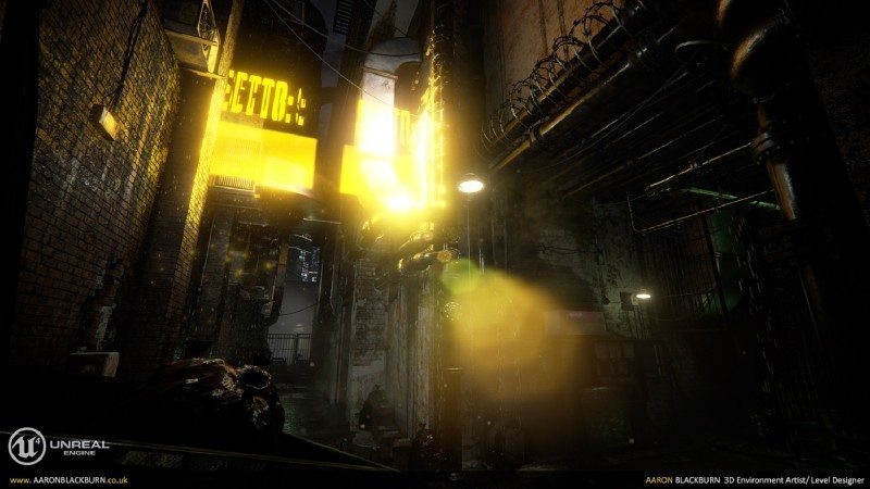 Blade Runner Unreal Engine 4 (4)