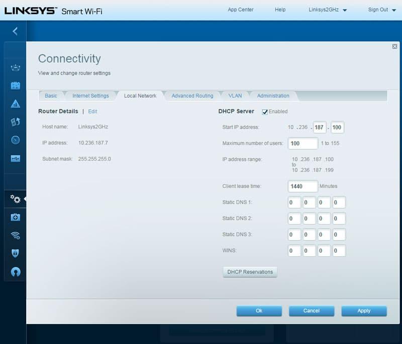 Linksys WRT1200AC AC1200 Dual-Band Smart Wi-Fi Wireless ...
