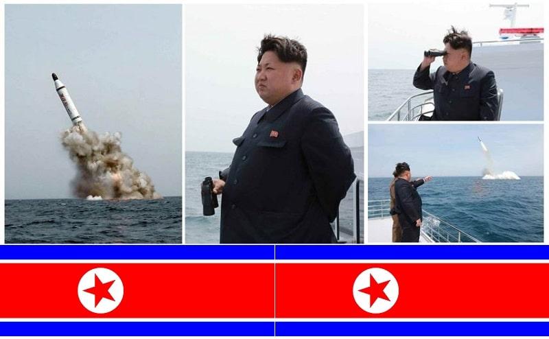 North Korea Missile Test Submraine Kim Jong Un