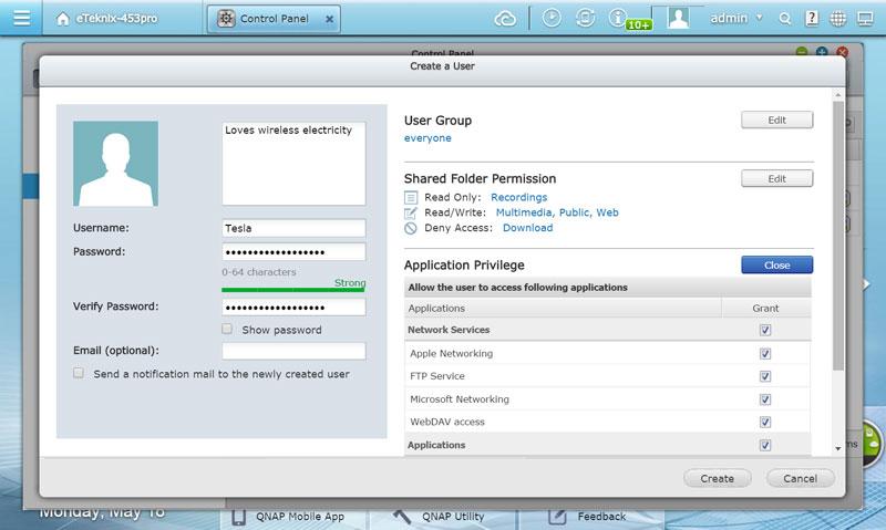 QNAP_TS-453Pro-SSuser-create