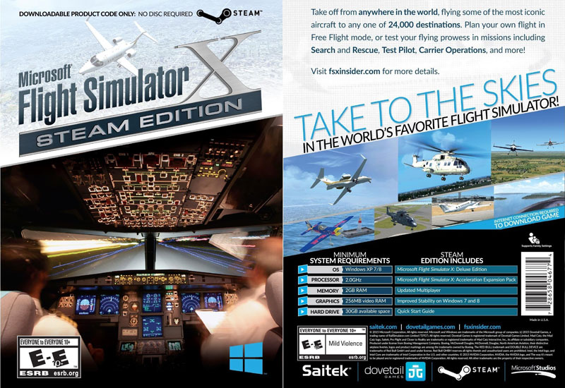 Saitek-MS-Flight-Sim-X