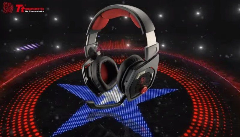 Stereoscopic 3d Gaming Computer: Tt ESPORTS Shock 3D 7.1 PC Gaming Headset Review