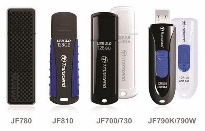 Transcend flash drives