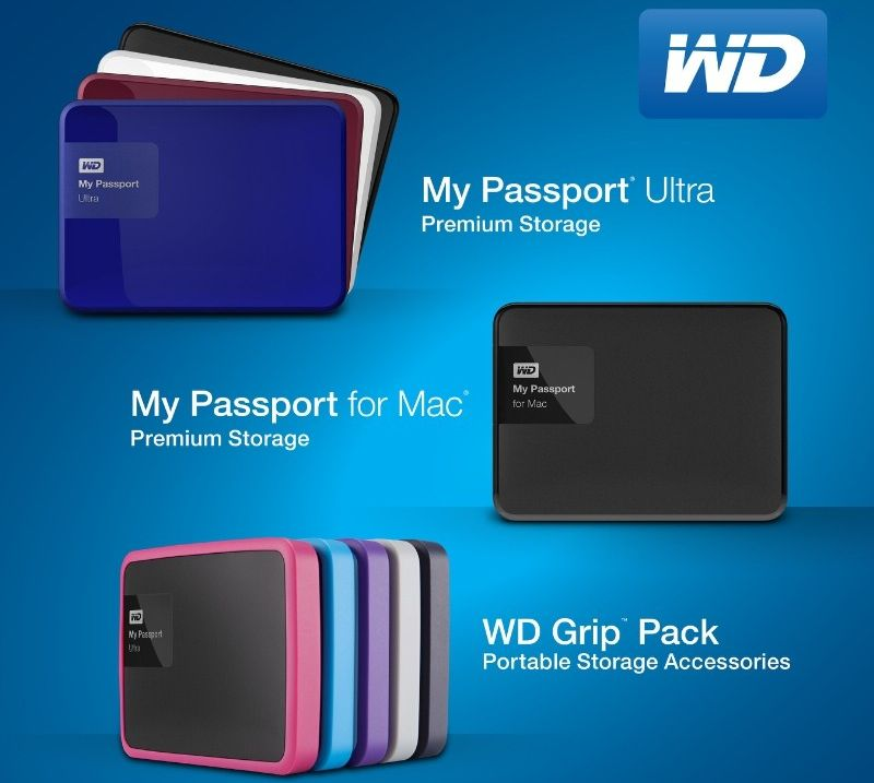 WD My Passport 7thGen