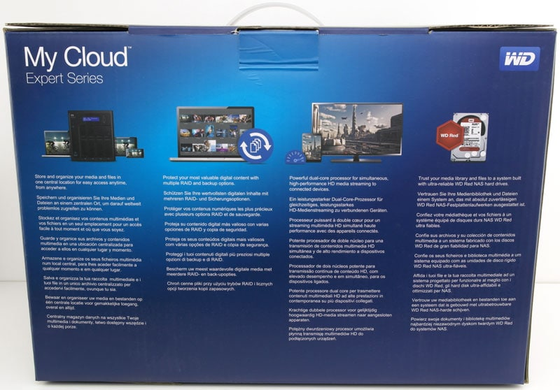 WD My Cloud EX4100 4-Bay Expert Series 16TB NAS Review | eTeknix