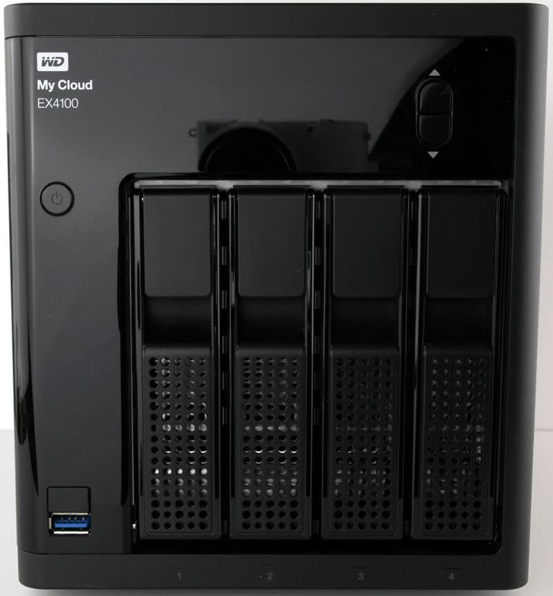 WD My Cloud EX4100 4-Bay Expert Series 16TB NAS Review | eTeknix