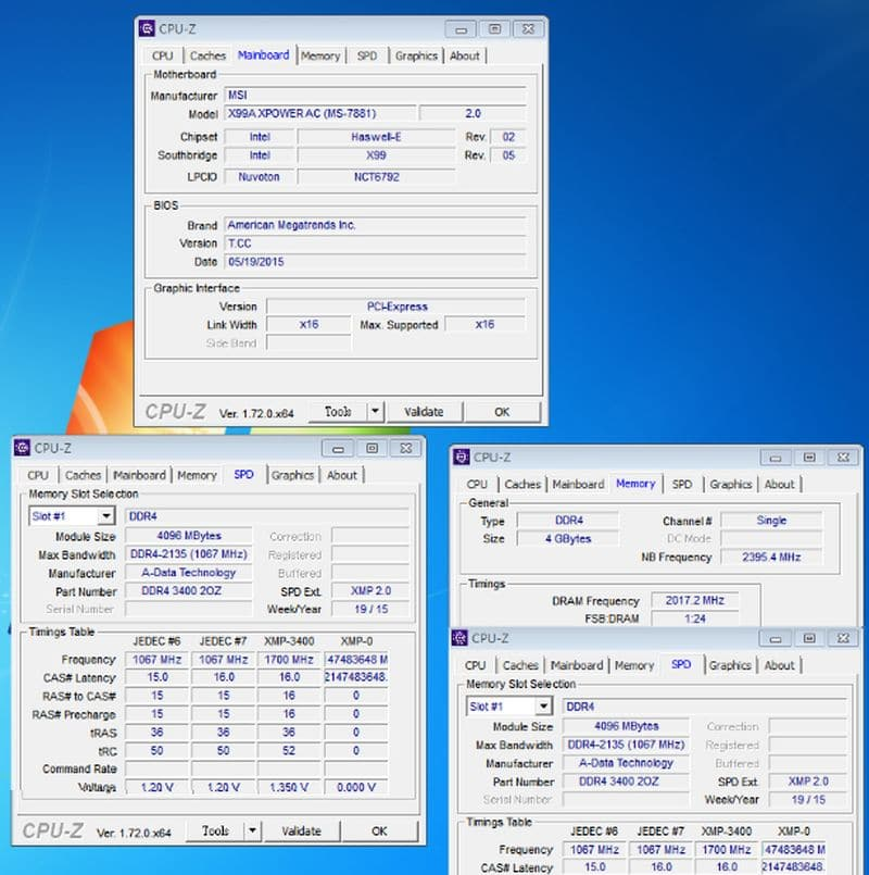 XPG Z2 - 4034Mhz