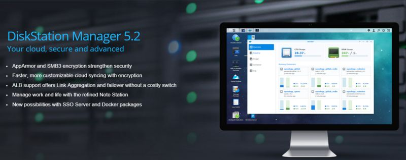 Synology Release the Final Version of DSM 5 2 | eTeknix