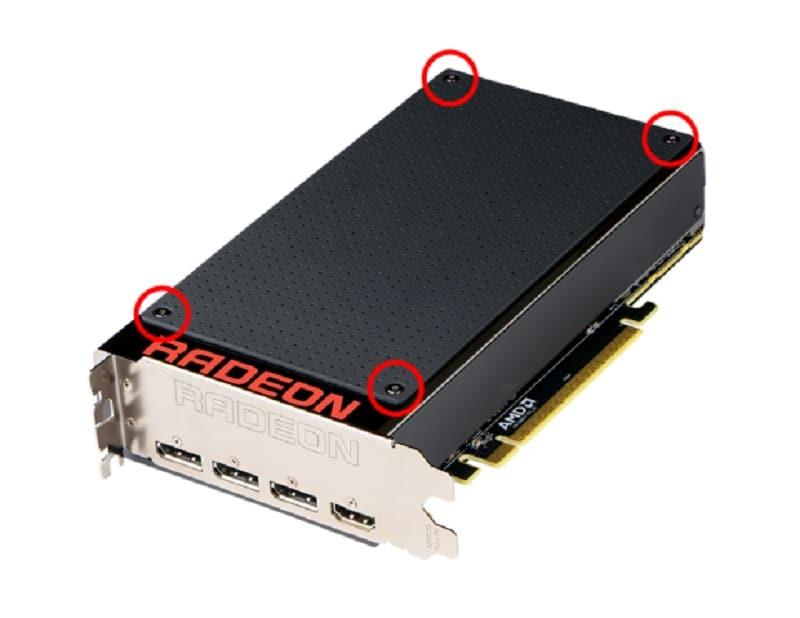 AMD Radeon R9 Fury X Faceplate CAD STP