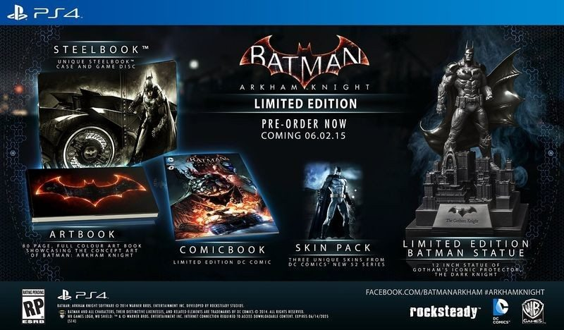 Batman Arkham Limited Edition