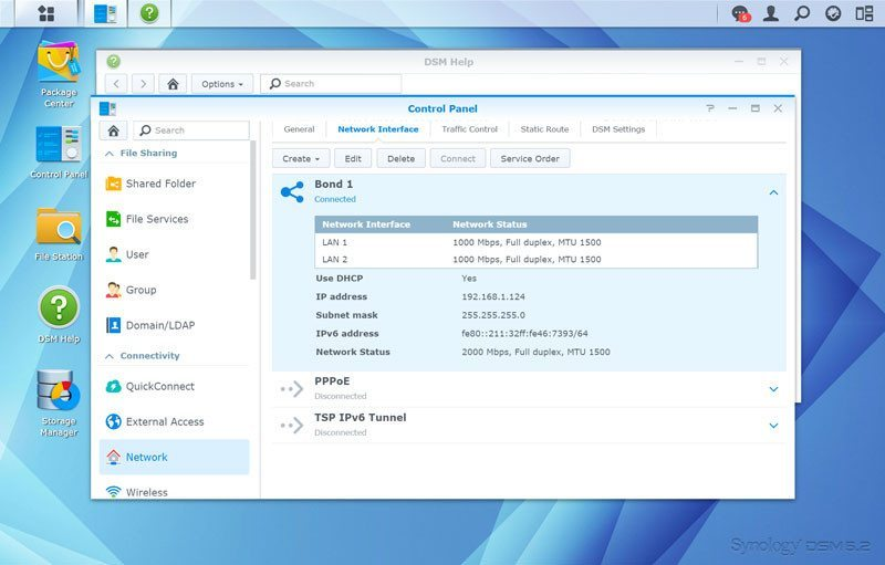 Synology_DS215p-SS-network-802success