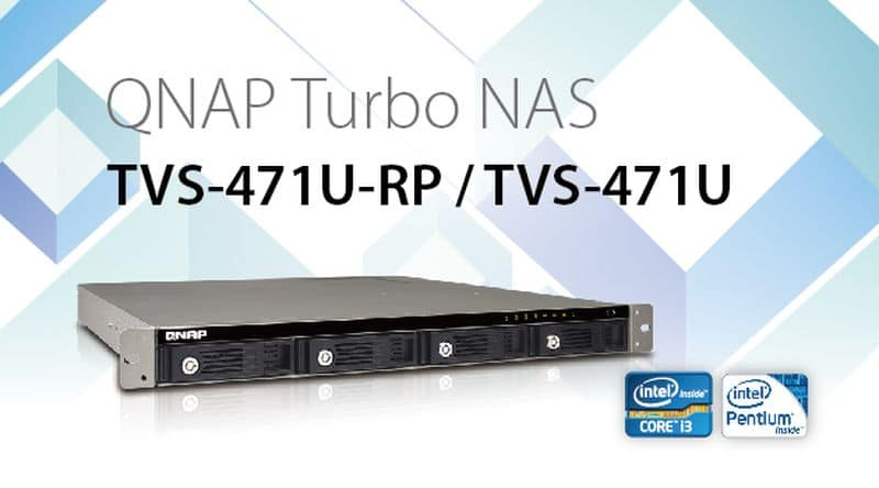 QNAP Releases High-Performance 4-Bay TVS-x71U Turbo VNAS