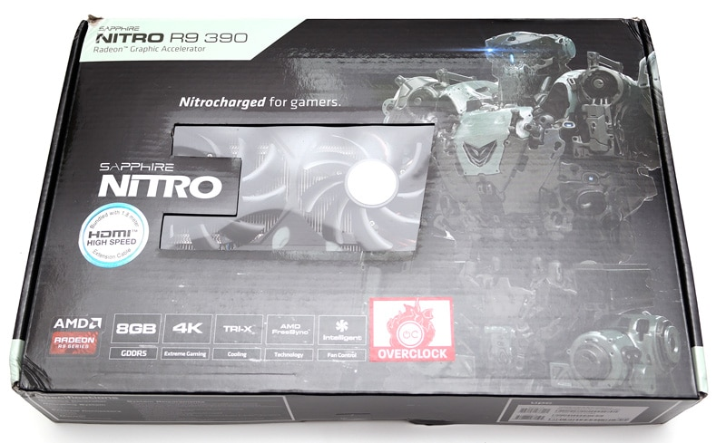 Sapphire Nitro R9 390 8GB Graphics Card Review | eTeknix