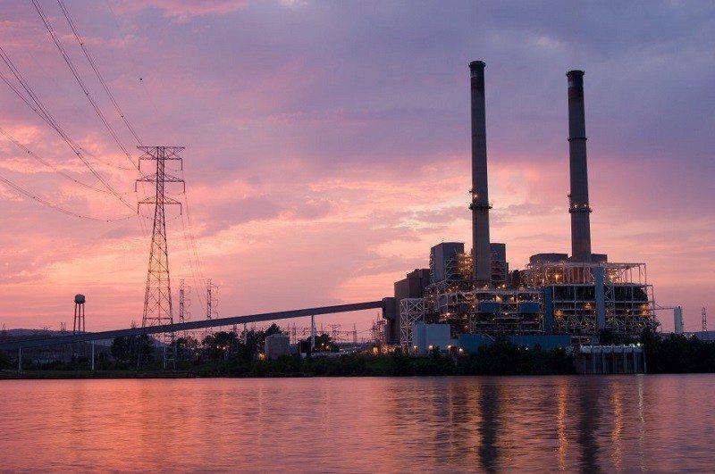 google coal power plant
