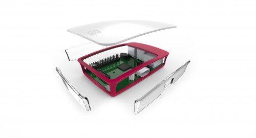 raspberry pi case prototype 3