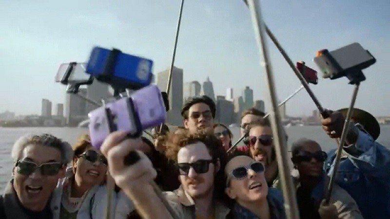 selfie stick samsung