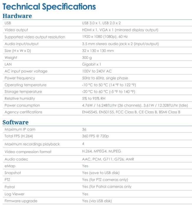 synology_vs360HD specs
