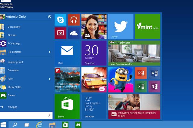 windows 10 fees