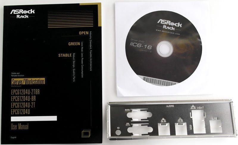 ASRock Rack EPC612D4U-2T8R (Intel C612) mATX Server