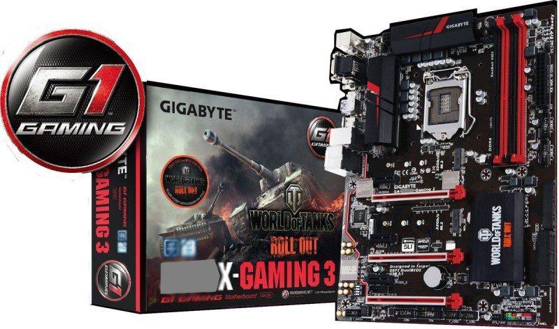 Gigabyte Gaming 3 WoT