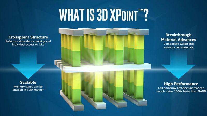 Intel 8 3D Xpoint
